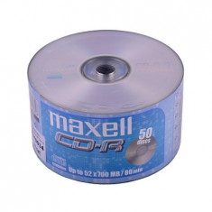 CD-R MAXELL 700MB 52X SPINDLE 50 Util ProCasa