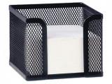 Suport metalic pentru cub notite negru