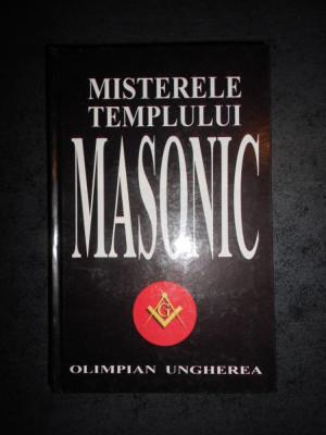 OLIMPIAN UNGHEREA - MISTERELE TEMPLULUI MASONIC foto
