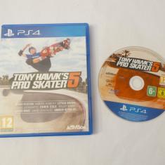 Joc Playstation 4 PS4 - Tony Hawk's Pro Skater 5