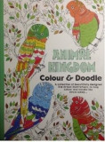 Adult colouring book. Animal Kingdom. Colour & Doodle/***