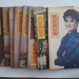 Lot 24 reviste REBUS FLACARA 1991, 1992, 1993 / C1 rev P