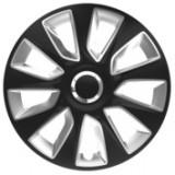 Capace roti auto Stratos RC 4buc - Negru/Argintiu - 17' ManiaMall Cars