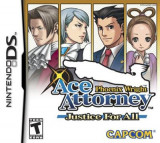 Phoenix Wright Justice For All Nintendo Ds