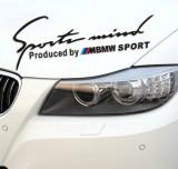 Sticker Sports Mind - BMW SPORT, 4World