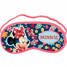 Masca de protectie pentru somn Minnie Mouse, roz