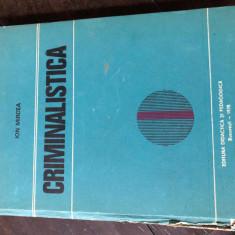Criminalistica - Ion Mircea Aa