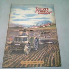 REVISTA STIINTE SI TEHNICA PENTRU TINERET NR.23/MARTIE 1951