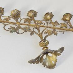 Sfesnic de bronz/alama Art Nouveau cca 1900