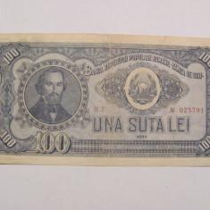 CY - 100 lei 1952 Romania / serie rosie / rara