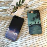 Carcasa iPhone cu model cer instelat