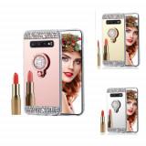 Husa silicon oglinda cu inel Samsung Galaxy S10 / S10 Plus /S10e, Alt model telefon Samsung