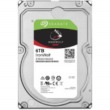 Hdd intern seagate 3.5 6tb ironwolf sata 6gb/s 7200rpm 256mb