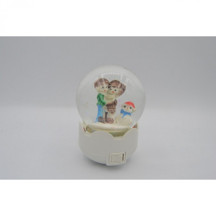 Glob Led cu Figurine