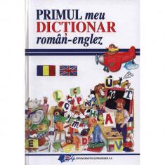 Primul meu dictionar roman englez -