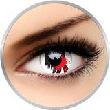 Crazy Blood Scream - lentile de contact colorate anuale - 360 purtari (2 lentile/cutie)