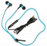 Casti Stereo I-BOX Z4, Microfon (Negru/Albastru)