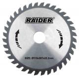 Disc pentru taiere lemn 190 mm 80 dinti Raider