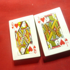 2 Brichete vechi - Carti de Joc , h= 5,3 cm