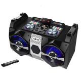 Sistem audio Akai DJ-530, 120 W, Bluetooth, efecte DJ, 2 x Aux, dual FM