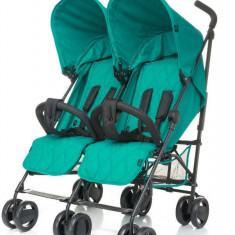 Carucior gemeni Twins 4Baby Turquoise