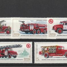 Masini de pompieri 1985, URSS.