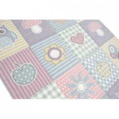 Covor MERINOS, Pastel Kids 21961 110 Multi, 160 x 230 cm, densitate covor 3 KG/m², grosime covor 13 mm, numar noduri pe m² 290000