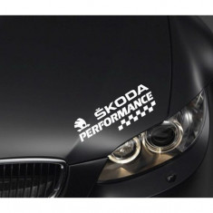 Sticker Performance - Skoda