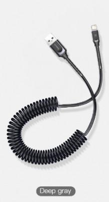 Cablu incarcare Baseus - pentru Iphone, retractabil foto