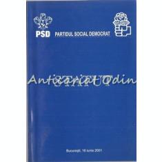Statut Al Partidului Social Democrat - Partidul Social Democrat