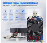 Sarcina electronica USB Tester USB capacitate baterie HD35