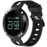 Cumpara ieftin Bratara Fitness iUni DM58 Plus, Waterproof, Display OLED, Ceas, Pedometru, Monitorizare puls, Notificari, Negru