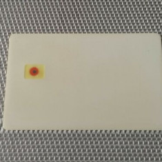 Phonecard Proof Test Card White Front CHIP Defekt?!