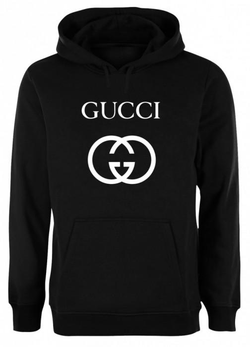 Hanorac Unisex negru Gucci COD HN402
