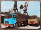 Calendar reclama camioane ROMAN, Ministerul Transporturilor// 1977