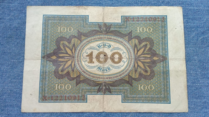 100 Mark 1920 Germania / marci germane / seria 12210912