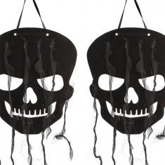 Set 2 Decoratiuni Craniu Suspendat Carton