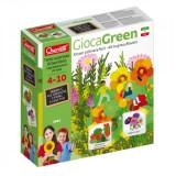 Set Creativ Pentru Copii Gioca Green Plantare Si Crestere Flori Quercetti
