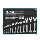Set 12 chei fixe Total Industrial, 6 - 32 mm, husa inclusa