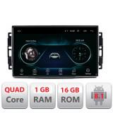 Navigatie dedicata Chrysler Jeep A-202 cu Android Radio Bluetooth Internet 1+16GB CarStore Technology