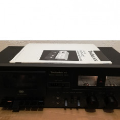 Stereo Cassette Tape Deck TECHNICS RS-M5 - Stare Perfecta/Rar/Vintage/Japan