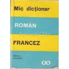 Mic Dictionar Roman-Francez - Marcel Saras