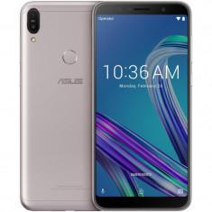 Smartphone asus zenfone max pro m1 (ecran 5.99 in carcasa de 5.5) 4g/lte dual sim, Argintiu, 32GB