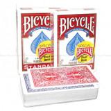 Carti pentru trucuri Bicycle Short Decks, rosii