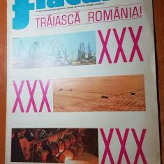 revista flacara 24 august 1974-arti. si foto piatra neamti si jud. mehedinti