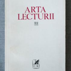Nicolae Balotă - Arta lecturii