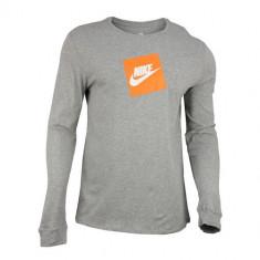 Bluza barbati Nike NSW TEE LS FUTURA BOX HBR AJ3873-063