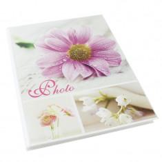 Album foto Spring Flowers, personalizabil, 15X21, 36 fotografii, crem