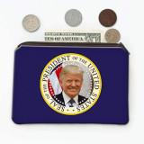 Sigiliul prezidențial Trump Photo : Cadou Geanta de monede : American Patriot SUA Statele Unite, Generic