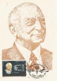 România, Henri Coandă, carte poştală ilustrată necirculată, 1985, aerofilatelie